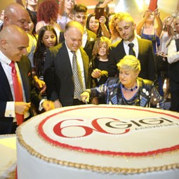 1655 - GIGI חוגגת יום הולדת 60,  בארוע בסגנון הוליוודי.
