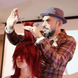 2166 - מעצבי שיער מובילים בישראל בכנס LPD של Label.m