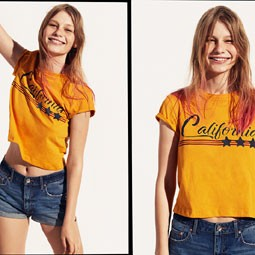 2356 - הדוגמנית הבינלאומית סופי מצטנר, מככבת בקמפיין שלH&M.