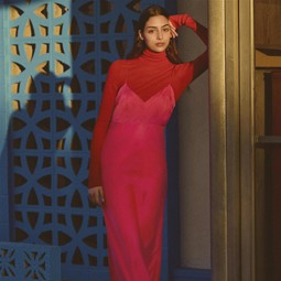 2554 - H&M STUDIO, סתיו-חורף 2018 -2019: שיק הנאו נואר, בסגנון שנות ה-50.