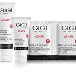 """3270 - """"מעבדות GIGI"""" משיקים את GIGI-ACNON: סידרה טיפולית המיועדת לאקנה."""