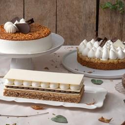 """3582 - ראש השנה בקונדיטוריית""""קפולסקי"""" עם קולקציה מיוחדת ומתוקה של עוגות."""