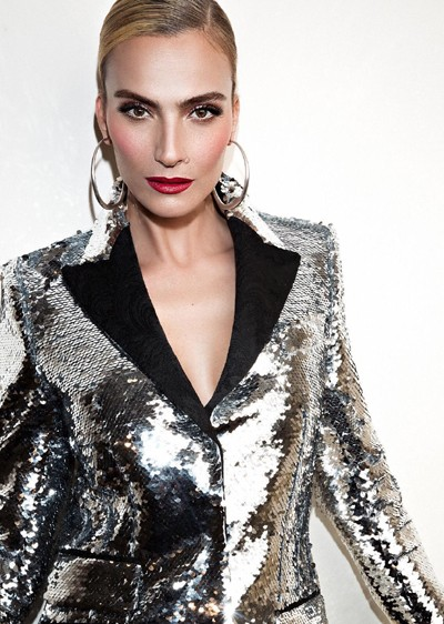"""3685 - בחירת השנה: אילנית לוי נבחרה כפרזנטורית של בית האופנה,""""גולברי - GOLBARY""""."""