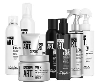 """3765 - כיצד חגגו בכירי מותג השיער המקצועי """"לוריאל פרופסיונל"""", את השקת סדרת עיצוב השיער טכני ארט -TECNI ART."""