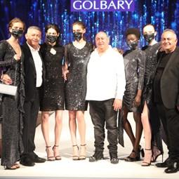 """3876 - בצל הקורונה נחשפה אתמול קולקציית אביב-קייץ - 2020, של בית האופנה """"גולברי""""."""