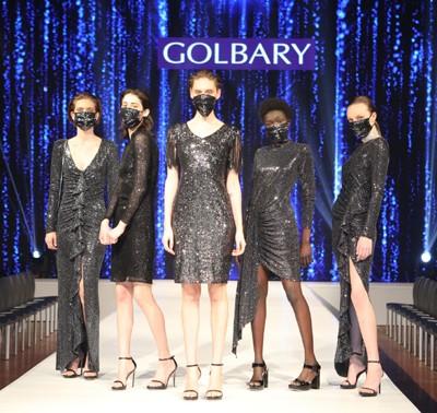 """3882 - בצל הקורונה נחשפה אתמול קולקציית אביב-קייץ - 2020, של בית האופנה """"גולברי""""."""