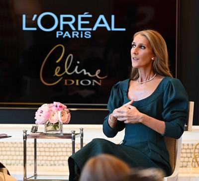 """3897 - סלין דיון נבחרה להוביל את קמפיין אביב - קייץ 2020, למותג צבעי השיער """"אקסלנס"""" של לוריאל פריז."""