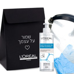 3951 - ערבות הדדית במספרות: L'OREAL PROFESSIONNEL, מעניק למעצבי השיער בארץ ערכות הגנה.