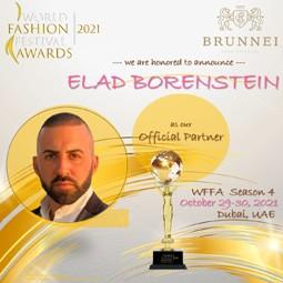 4337 - היזם אלעד בורנשטיין, נבחר לייצג את ישראל ב World Fashion Festival Awards בדובאי.