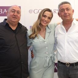 אילנית לוי פרזנטורית גולברי בהשקת קולקציית גולברי קייץ 2021.