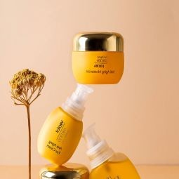 גולדן חוחובה צילום דיטלס 4 - מותג טיפוח אורגני חדש, The Organic Golden Jojoba- חוחובה זהב.